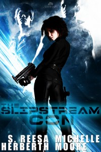 Vanya does like her guns. - The Slipstream Con cover